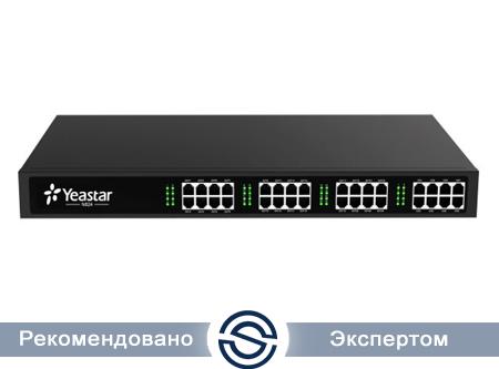 IP-АТС Yeastar MyPBX N824, 1U, 24*FXS,8*FXO,4*SIPTrunk,8*SIPExt