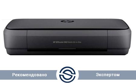 МФУ HP OfficeJet 252 Mobile / 4800x1200 / A4 / 20 ppm / Printer+Scaner+Copier / N4L16C