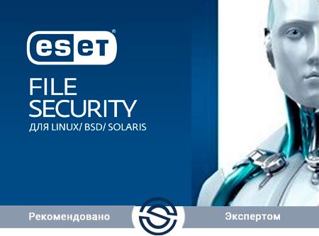 Антивирус ESET File Security для Linux / FreeBSD Лицензия на 3 сервера (NOD32-EFSL-NS-1-3 KZ)