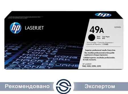 Картридж HP Q5949A Лазерный Черный (на 2500 отпечатков)