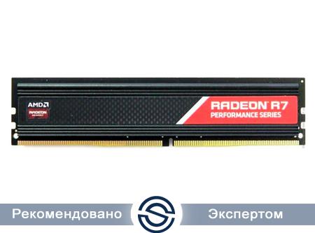 Оперативная память 4Gb DDR4 2400MHz AMD Radeon R7 Performance CL15 R744G2400U1S-U