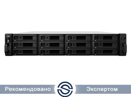 NAS-сервер Synology RS2416+ / 12xHDD / 2,4 ГГц / 2Gb DDR3 / 2U / 500W