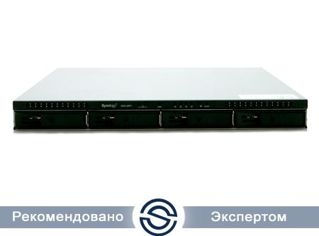 NAS-сервер Synology RS815+ / 4xHDD / 2,4 ГГц / 2Gb DDR3 / 1U / 250W