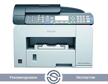 МФУ Ricoh SG 3110 SFNw 3600x1200 / A4 / 29 ppm / Printer+Scaner+Copier+Fax / USB+LAN