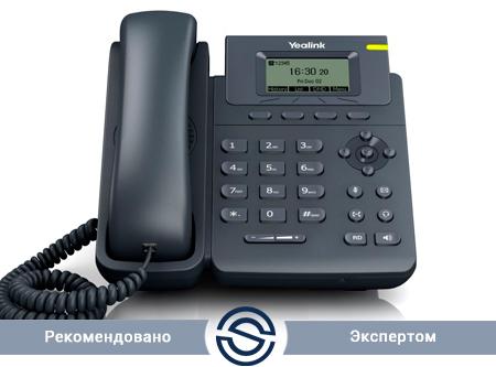 SIP-телефон Yealink SIP-T19 Е2, 1 линия, с БП
