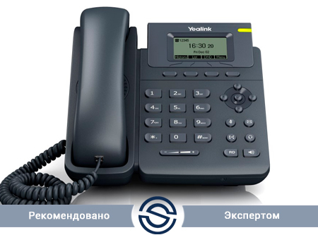 SIP-телефон Yealink SIP-T19P E2, 1 линия, PoE, без БП