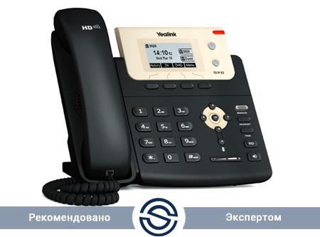 SIP-телефон Yealink SIP-T21P E2, 2 линии, PoE, без БП