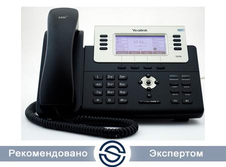 SIP-телефон Yealink SIP-T27G, 6 линий, РоЕ, с БП