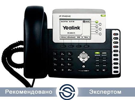 SIP-телефон Yealink SIP-T28P, 6 линий, BLF, PoE