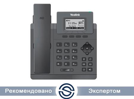 SIP-телефон Yealink SIP-T30P, 1 линия, Poe, без БП