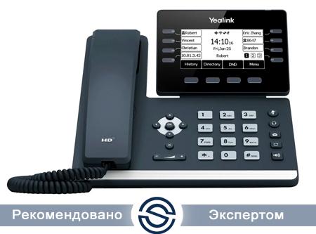SIP-телефон Yealink SIP-T53, 12 аккаунтов, USB, GigE, Рое, без БП