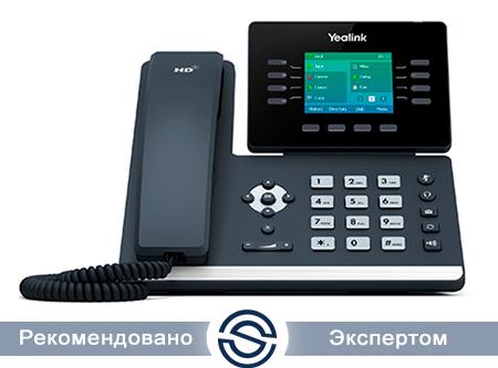 SIP-телефон Yealink SIP-T54S, 16 аккаунтов, без БП