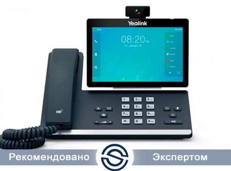 SIP-телефон Yealink SIP-T58А, сенсорный экран, 16 аккаунтов, без БП