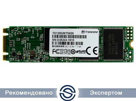 SSD 120Gb Transcend TS120GMTS820S SATA M.2
