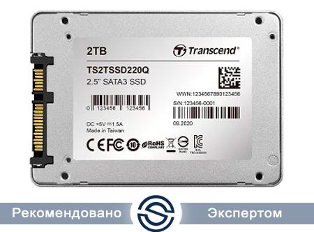 SSD 2TB Transcend TS2TSSD220Q