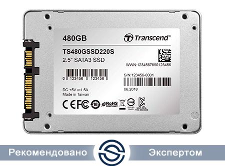 SSD 480Gb Transcend TS480GSSD220S