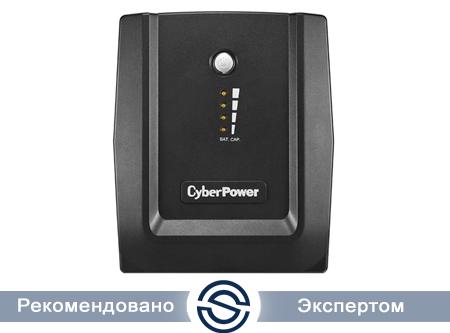 UPS CyberPower 1500VA/900W, Интерактивный, AVR, LED, RJ11/RJ45, USB, 6xIEC C13 / UT1500EI