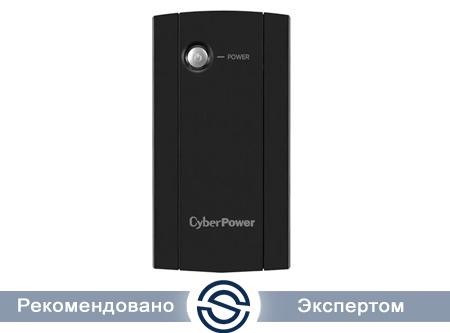 UPS CyberPower 850VA/425W, Интерактивный, AVR, RJ11/RJ45, 2xSchuko (CEE 7/4) / UT850E