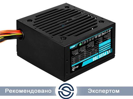 Блок питания 700W Aerocool VX PLUS 700, ATX, APFC, 20+4pin, 4+4pin, 6*Sata, 3*Molex, 1*FDD, 2*PCI-E 6+2pin, Fan 12см
