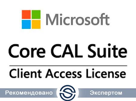 Microsoft Core CAL Ru License/Software Assurance Pack Open No Level User CAL (W06-00415)