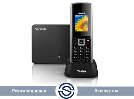 SIP-телефон Yealink W52P DECT (база+трубка)