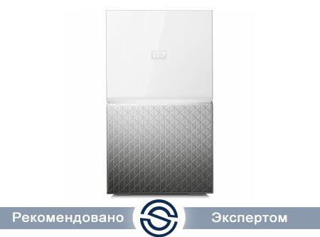Система хранения данных Western Digital My Home Duo 12Tb 2xUSB3.0 GLAN / WDBMUT0120JWT-EESN