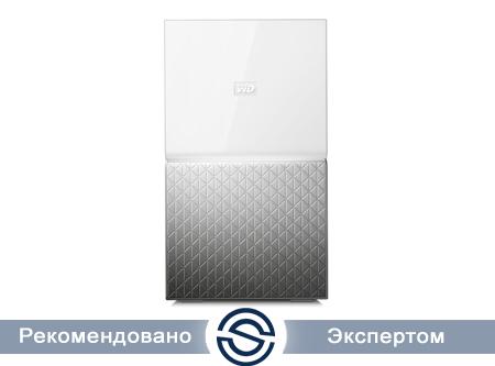 Система хранения данных Western Digital My Home Duo 16Tb 2xUSB3.0 GLAN / WDBMUT0160JWT-EESN