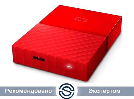 Внешний жесткий диск WD WDBUAX0040BRD-EEUE
