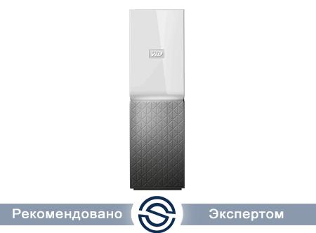 Система хранения данных Western Digital Cloud Home 3Tb 1xUSB3.0, GLAN, 1BAY, WDBVXC0030HWT-EESN